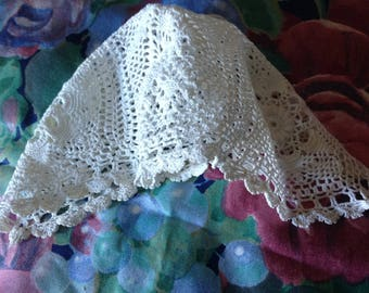 Antique early 20th century crocheted child Hat