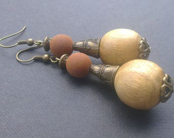 Volcanic and Nature earrings