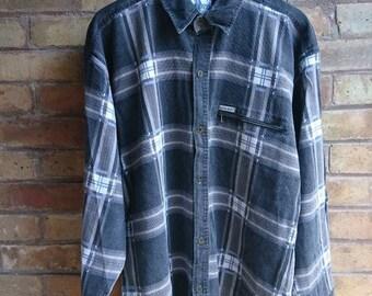 Vintage grey checked shirt