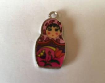 Russian doll pink + multicolor