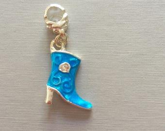 Blue boot (cowboy boot)