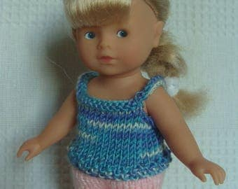 Shorts and tank top for Mini Corolline doll clothing