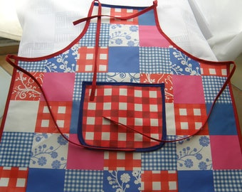 The apron school girls oilcloth for fun