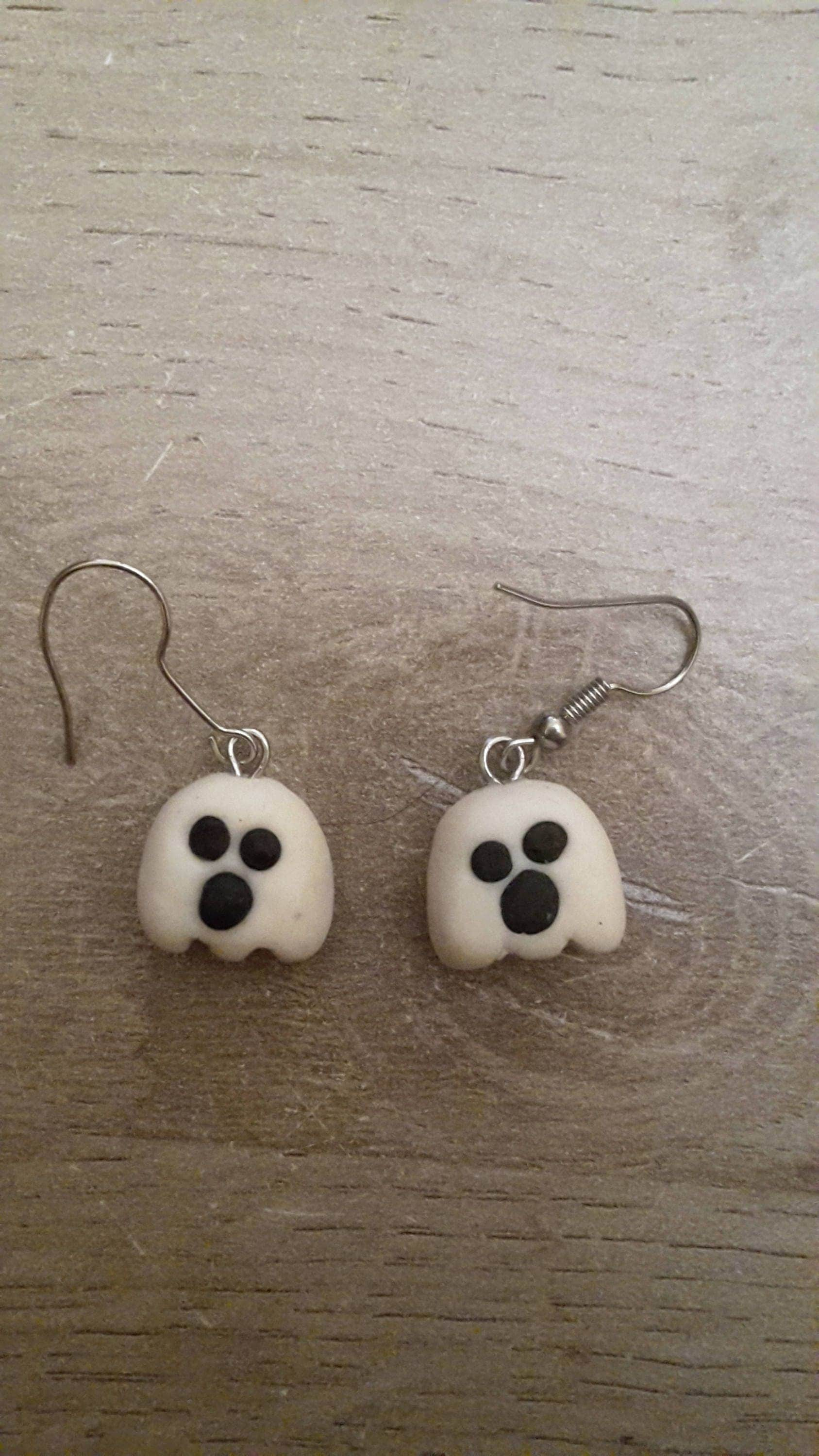 jewellery ghost products bunny sterling silver furkeeps lop earrings stud eared handmade
