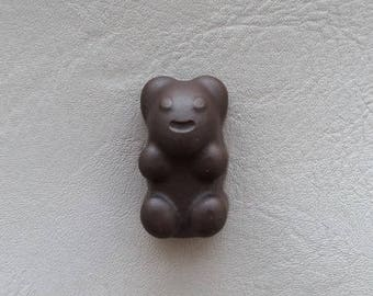 "Magnets candy bear resin Brown ""Les treats"""