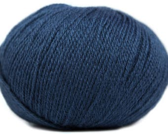 Wool Buttercup - CLUB - Navy color 0342