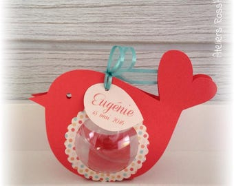 Bird box with original dagee coral