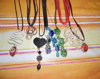 Pendants you want that's different shapes and colors