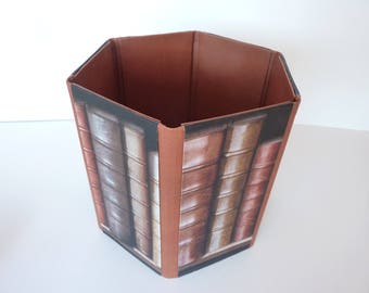 hexagonal and folding basket for office