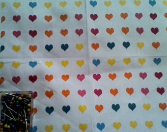Creation of printed tissue pattern heart