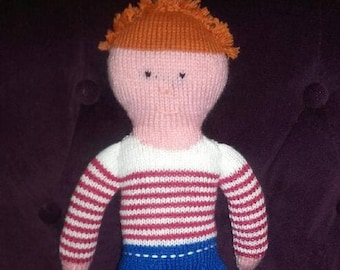 Jules, the great sailor boy doll