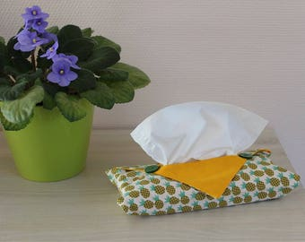 Origami - pineapple motif tissue cover