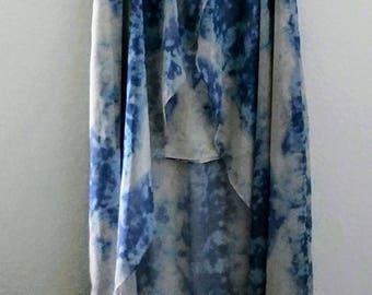 Tie-dye boho skirt