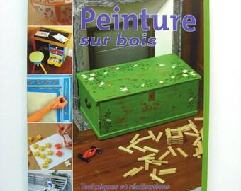 """Livre """"Peinture sur bois"""" 65 projets originaux"""