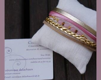 """""""little pink"""" women bracelet"""