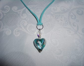 Heart Necklace Bead Murano