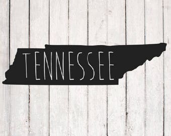 Tennessee svg| TN svg design | Monogram svg Files | Silhouette Files | Cricut Files | SVG Cut Files | PNG Files