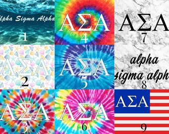 Alpha Sigma Alpha Sorority 3' x 5' Flag
