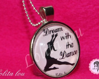 Necklace dance pattern ' ballerina/dream with the dance.