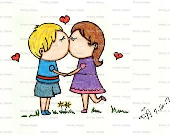 Sweet Kiss print