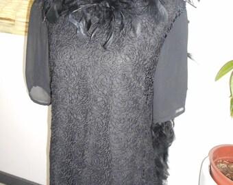 Black Lace dress - size 42