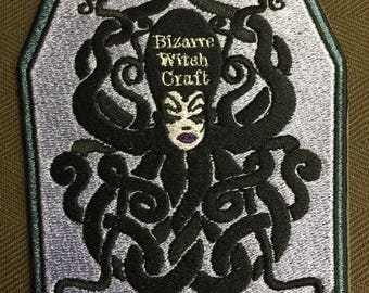 Halloween project ! Patches collaboration with Bizarre Witch Craft! Embroidery color :Noble Emerald