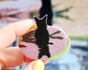 Patch, Artist Collaboration with Shane Massey/Reflective Cat/edition 200