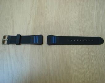 Bracelet Watch silver tone plastic buckle
