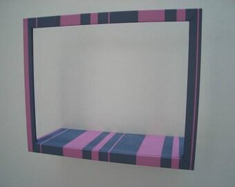 Library stripe pocket storage frame (2)