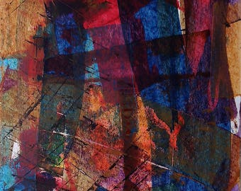 Abstraction Abstract Art abstract painting original abstract painting acrylic on cardboard 170553