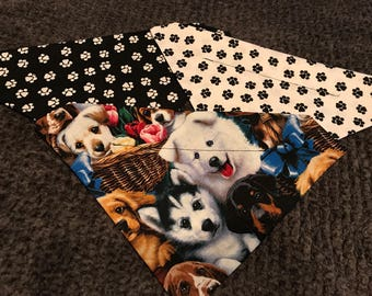 Dog bundle of bandanas! Set of 3!