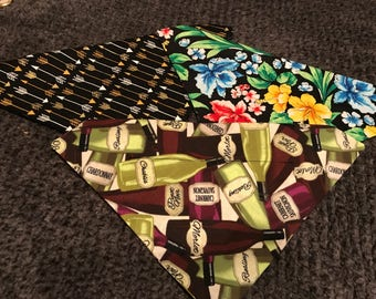 Whimsical fun bundle of bandanas! Set of 3!