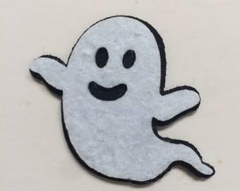 Felt ghost embellishment