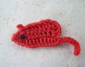 Mouse - handmade crochet application