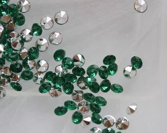 ❥ Set 20 green paste rhinestones