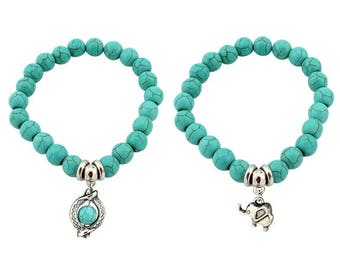 Turquoise bracelet for summer to any cheap