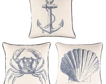 Set of 3 sea vintage pads