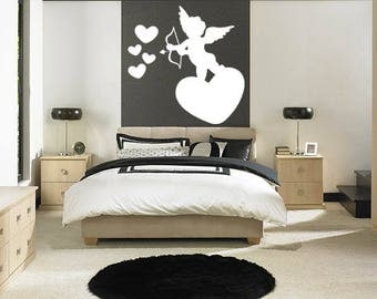 Sticker room Cupid love 45cm x 45cm