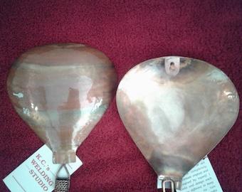 Copper Hot Air Balloon Wall Art  (sm)