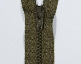 14 cm not separable khaki YKK zipper