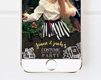 Halloween Costume Party Snapchat Geofilter, Halloween Pumpkin, Halloween Party filter, Custom Snapchat Halloween, Snapchat filter custom,