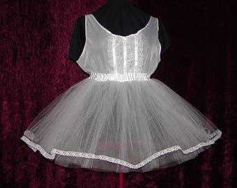 Tulle Crinoline Petticoat Adult Baby Sissy Dress Custom Made