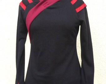 """Black """"Kimivi"""" tunic Sweatshirt"""