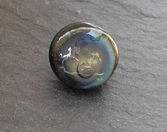 Murano PERL.1596 glass button