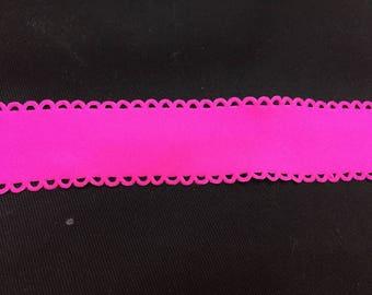 Hot pink stretchy Ribbon