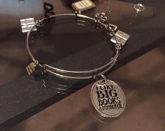 Book Lovers Charm Bracelet