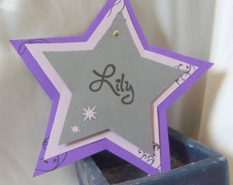 Share birth or baptism star