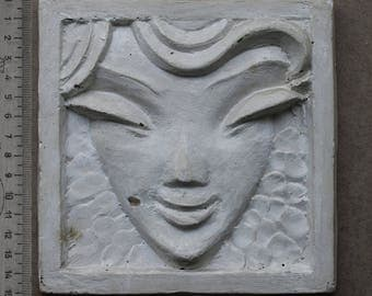 plaster  mask of a woman