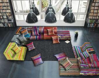 Loundge floor cushions sofa Cushion cover