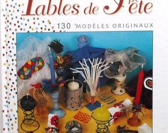 book nine seed pearls to decorate your party TABLES